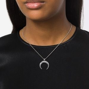 Jewelry - Ox horn Stainless Steel Pendant necklace